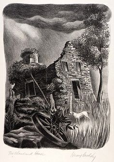 The Abandoned House by Harry Brodsky / American Art