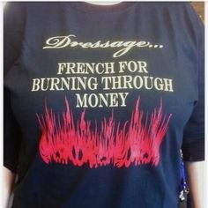 Dressage - French for. ...