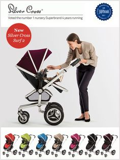 The Silver Cross Surf 2 Pram : Improved By You