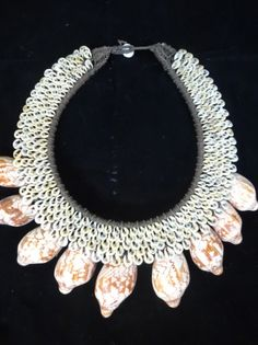 Amazing Women Fashion Spotted Shell Necklace Home by ubudexotica