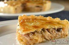 Receita de Torta de sardinha especial em receitas de tortas salgadas, veja essa e outras receitas aqui!