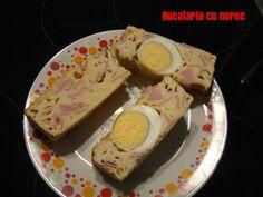 Chec aperitiv cu oua fierte - Bucataria cu noroc