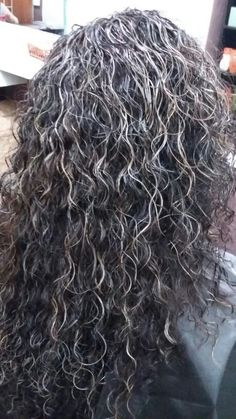 Base castaño oscuro cortinas en color plata.. corte a navaja para disminuir volumen Grey Hair Dye, Color Plata, Going Gray, Highlights, Hair Color, Dreadlocks, Crown, Base, Long Hair Styles