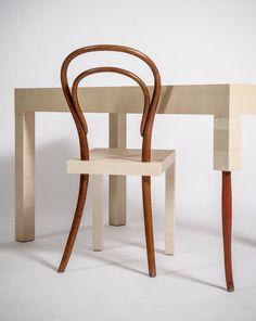 Hommage à la chaise thonet n°14 par Célia Persouyre