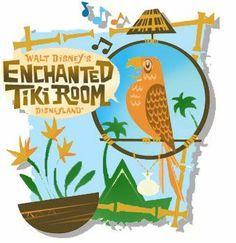 In the tiki tiki tiki tiki tiki room Tokyo Disney Sea, Tokyo Disney Resort, Tokyo Disneyland, Walt Disney, Viral Advertising, Disney Birds, Disney Enchanted, Tiki Room, Vintage Hawaiian