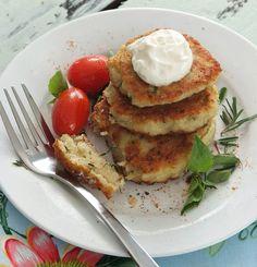 potatoe-fritters, one of my favourite recipe, find it on www.hirschs.co.za
