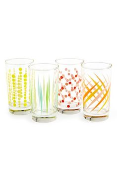 Fishs Eddy 'Party' Juice Glasses (Set of 4) | Nordstrom