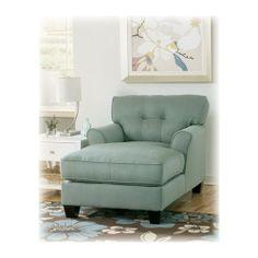 Furniture for sunroom on pinterest furniture living for Ashley kylee chaise
