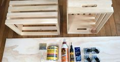 You have probably noticed by now how much I love working with wooden crates. It's amazing how much you can actually do with them. This time, I decided to create…