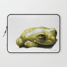 African Frog Laptop Sleeve