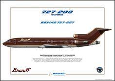 Braniff International Airways B727-200