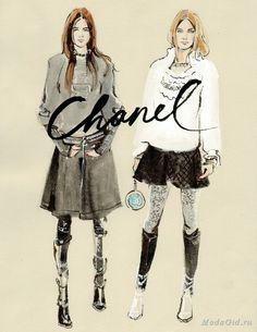 Знаменитости: Модный иллюстратор Regina Yazdi