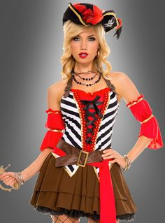 Piratin Kostüm bei » Kostümpalast.de