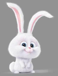 O coelhinho muito fofo do filme dos Pets! Se vc não assistiu pode ver na Netflix ou em outro site