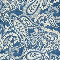 Cisco Blue EasyCare Fabric by the Yard