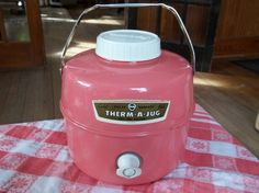 Vintage Pink Therm-A-Jug One Gallon