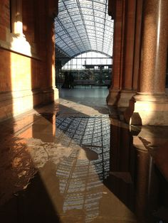 St Pancras: Upon Reflection