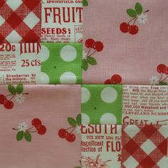 Farmers Wife quilt block....LOVE the fabrics!