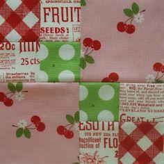 Farmers Wife quilt block....LOVE the fabrics!