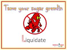 Tame your sugar gremlin using the CANDY FLOSS system by Cutting the Carbs