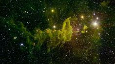 The Spider Nebula Located in the constellation Auriga, IC 417 lies about 10,000 light-years away. It is in the outer part of the Milky Way, almost exactly in the opposite direction from the galactic center. This region was chosen as the subject of a research project by a group of students, teachers and scientists as part of the NASA/IPAC Teacher Archive Research Program (NITARP) in 2015. NASA/JPL-Caltech/2MASS