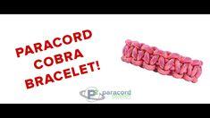 How To Make A Paracord Cobra Bracelet - Paracord Planet Tutorial