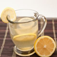 Hot Toddy Home Remedy - A hot beverage to warm you up when you are feeling run down.