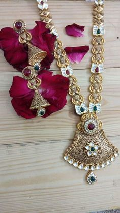Gold Bangles Design, Gold Jewellery Design, Gold Jewelry, Gold Necklace, Gold Pendent, Pendant Set, Bridal Jewelry, Long Necklaces, Topaz Ring