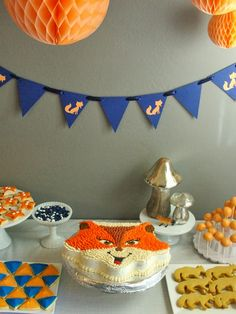 Fox Themed Party