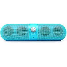 Beats By Dre Beats Pill Neon Blue Wireless Speakers at Zumiez : PDP on Wanelo