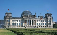 Stunning Decoration Implemented in Reichstag building : The Reichstag Building Overview