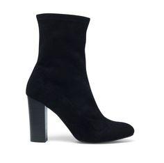 laarzen zwart hak