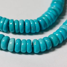 Natural Sleeping Beauty Turquoise Beads 6mm by desertfiresupplies, $13.20