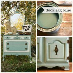 Duck Egg Blue Chalk Paint® - Eco Chic Boutique