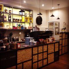 Coffeehouse decoration little coffee shop at Pythagoreio Plaisircoffeespythagoreio