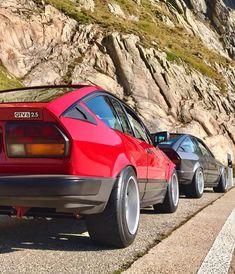 Alfa Romeo Gtv6, Alfa Gtv, Custom Muscle Cars, Old School Cars, Futuristic Cars, Car Tuning, Rear Window, Cars And Motorcycles, Luxury Cars