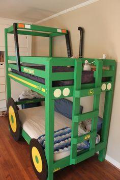 kinder etagenbett jungenzimmer gestasfcvülten ausgefallenes bett grün