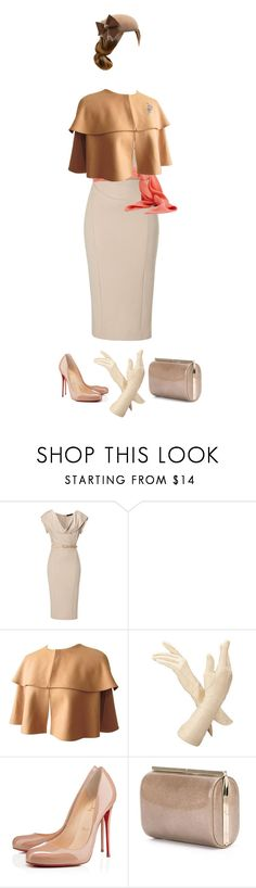 """""""Royal"""" by jellymae ❤ liked on Polyvore featuring Donna Karan, Graham & Brown, Eugenia Kim, Aspinal of London, Christian Louboutin and Jimmy Choo"""