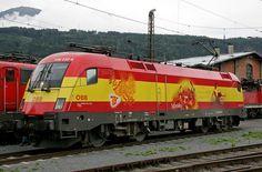 ÖBB 1116 232-8 Spanien, Traktion Innsbruck | Flickr - Photo Sharing!