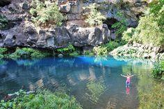 La Réunion : bassins et cascade à Saint-Gilles - Les Gommettes de Melo