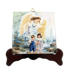 Guarda questo articolo nel mio negozio Etsy https://www.etsy.com/it/listing/387403406/the-guardian-angel-with-children