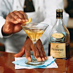 Wayne's French 75 Martini