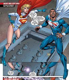 Power Girl Val Zod