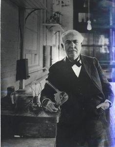 Thomas Edison enjoyed FL sunshine in the winter | Photo by encyclopedia.com