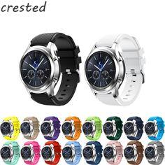 Silicone Bracelet Watch Band Wrist Strap For Samsung Gear