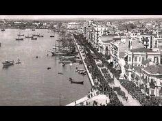 'Η θέα από το Λευκό Πύργο τα τελευταία 100 χρόνια' - YouTube Thessaloniki, City Photo, Places, Youtube, Youtubers, Youtube Movies, Lugares