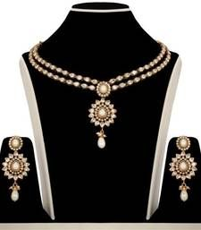 Buy Design no. 10b.2237....Rs. 3250 necklace-set online