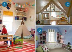Eye Candy: 10 Inspiring Kids Playrooms