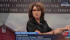 Sarah Palin Knows How to Beat Hillary - Accuse Her of a Bunch of Stuff!