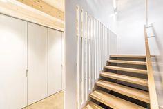 #einfamilienhaus #holzbauweise #wermatswil #kontextuell #denkmalschutz #filterschicht #architecture #swissarchitecture #stairs Swiss Architecture, Stairs, Home Decor, Stairway, Staircases, Interior Design, Ladders, Home Interior Design, Ladder